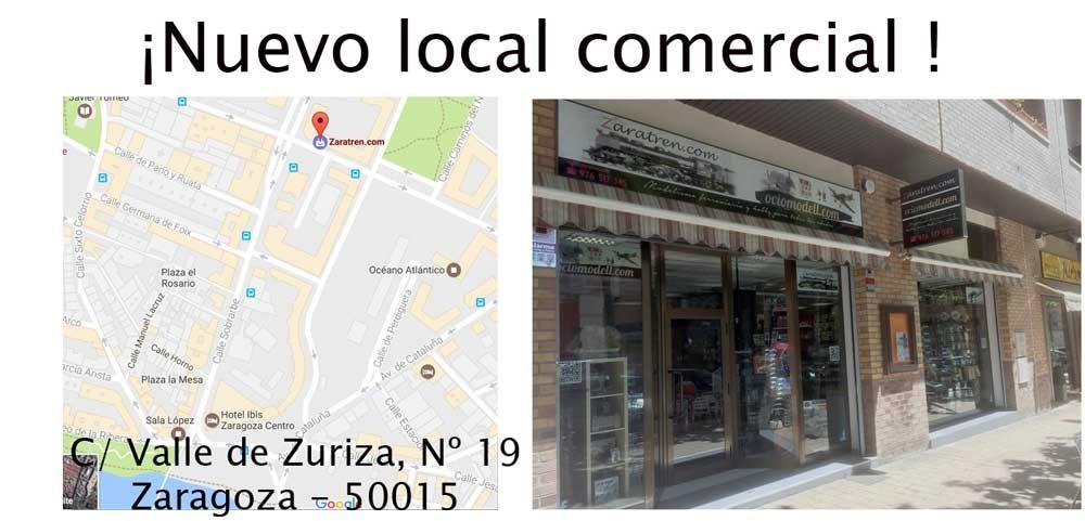 Ociomodell – Presentación del nuevo local comercial de Ociomodell.com y Zaratren.com, en Calle Valle de Zuriza 19, Zaragoza – 50015