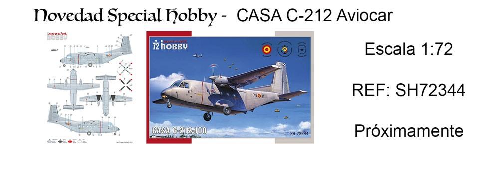 Special Hobby - Novedad CASA C-212 Aviocar, Escala 1:72 , REF: SH72344