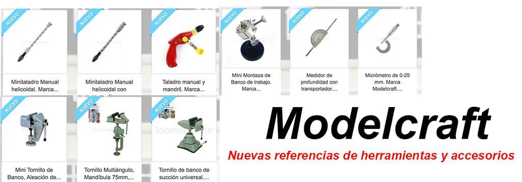 Nuevas herramientas Modelcraft en nuestra tienda