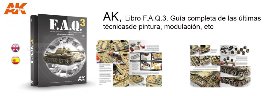 F.A.Q.3. Marca AK Interactive. Ref: AK289.