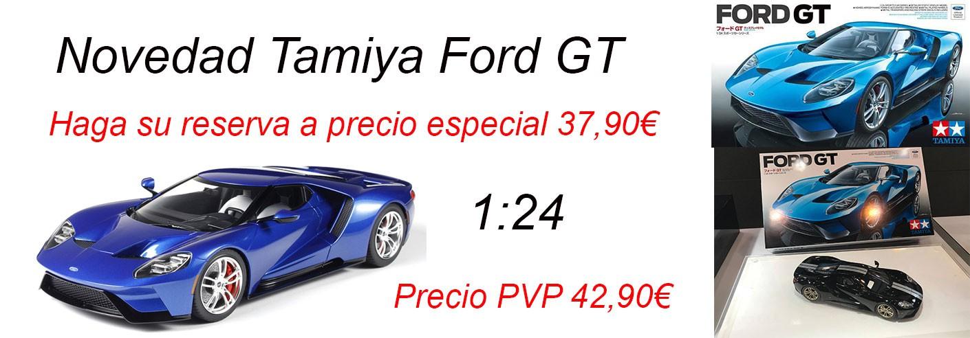 TAMIYA - FORD GT